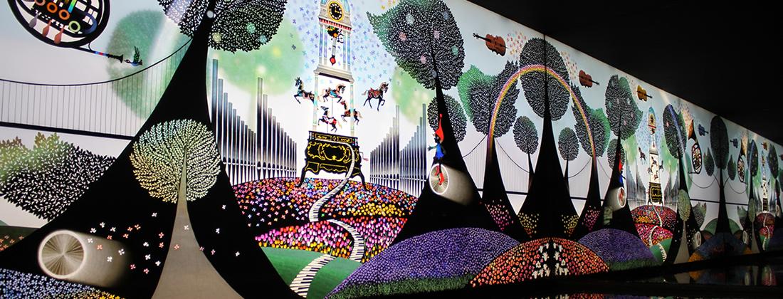 「昇仙峡 影絵の森美術館」の画像検索結果