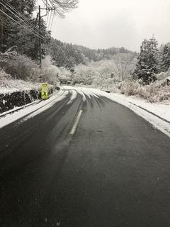 昇仙峡は雪模様!