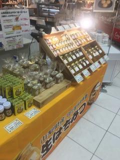 明日1日だけイトーヨーカドー三島店で蜂蜜販売致します!